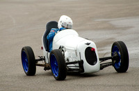 Austin 7 Single Seater    Vince  Leek