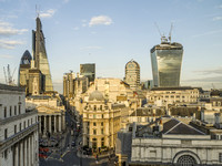 London - Bank of England & the Cheesegrater