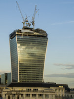 London - The Walkie-Talkie under construction