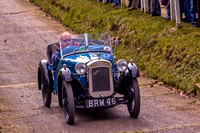 Austin 7 Speedy on the Test Hill