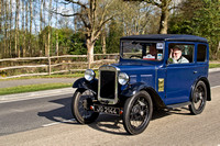 Austin 7 Box Saloon JG 2144