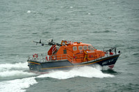 Tenby Lifeboat Launch2