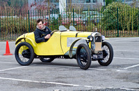 Austin 7 Ulster Special    PW 7163