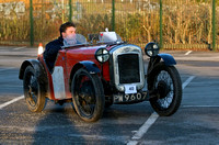 Vintage Cars VSCC New Year Driving Tests 2011