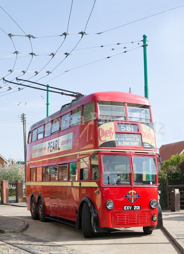 London Transport Trolley bus