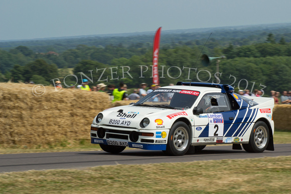 Bonzer Photos Rally Cars Group B Rally Cars Ford Rs 200