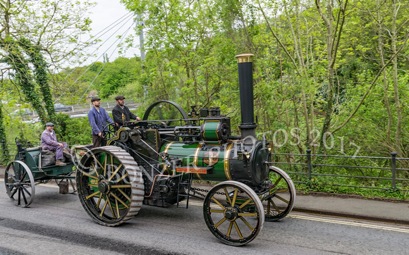 Marshall 8NHP Traction Engine - Mary Margaret