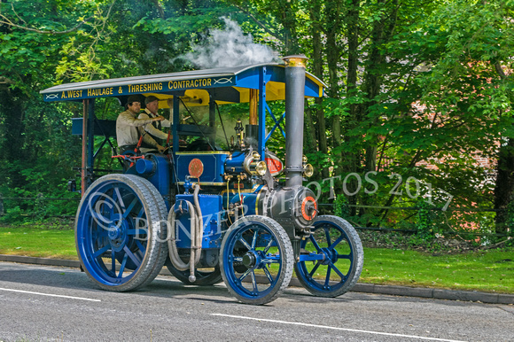 Marshall 4 NHP 5 ton Steam tractor  – 'Moonraker'