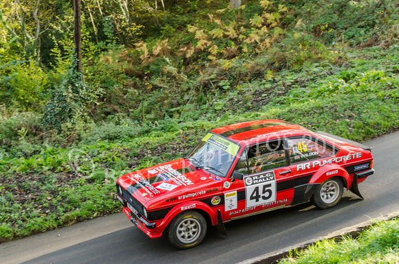 Ford Escort MkII     -   Andrew Robinson  Kevin Wilson