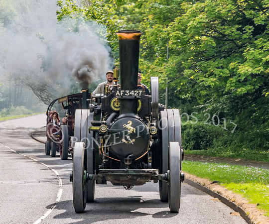 Aveling & Porter 6NHP Traction Engine - Avellana