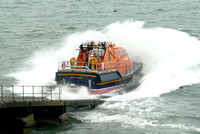 Tenby Lifeboat Launch