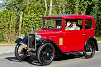 Austin 7  Box Saloon YY 3891