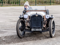 Vintage cars VSCC New Year Driving Tests Brooklands Museum February 2015