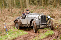 Vintage Cars VSCC Herefordshire Trial March 2015
